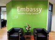 The new Toronto Embassy school.