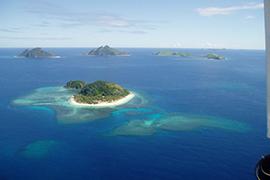 常夏の島でリゾート気分を味わえる