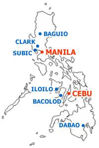 フィリピンの地域紹介