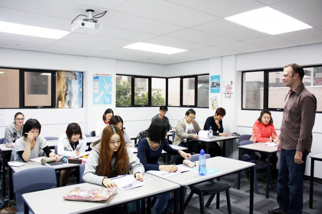 学生の「やる気」をサポートするオークランドの語学学校