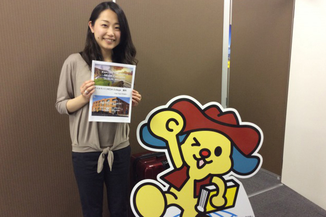 何度でも申込可能なインターンシップが人気、日本人スタッフのサポート体制が整った学校
