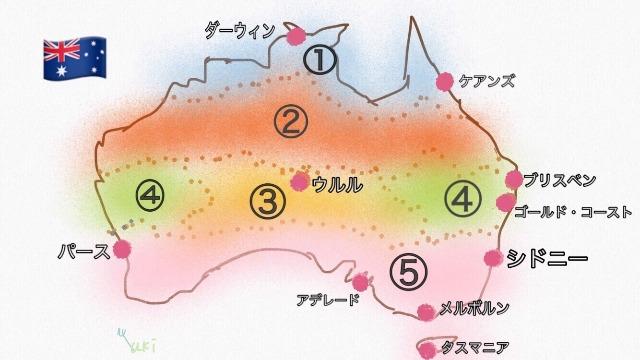 気温 オーストラリア